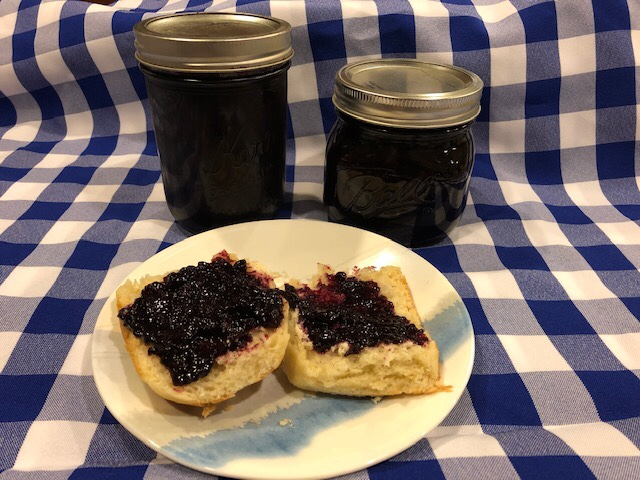 Homemade Blueberry Jam