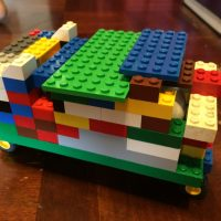 Lego Challenge: Build a Car for an Egg