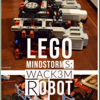 Lego Mindstorms: Wack3m Robot
