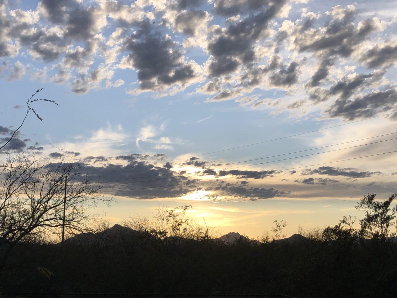 sky before sunset 2