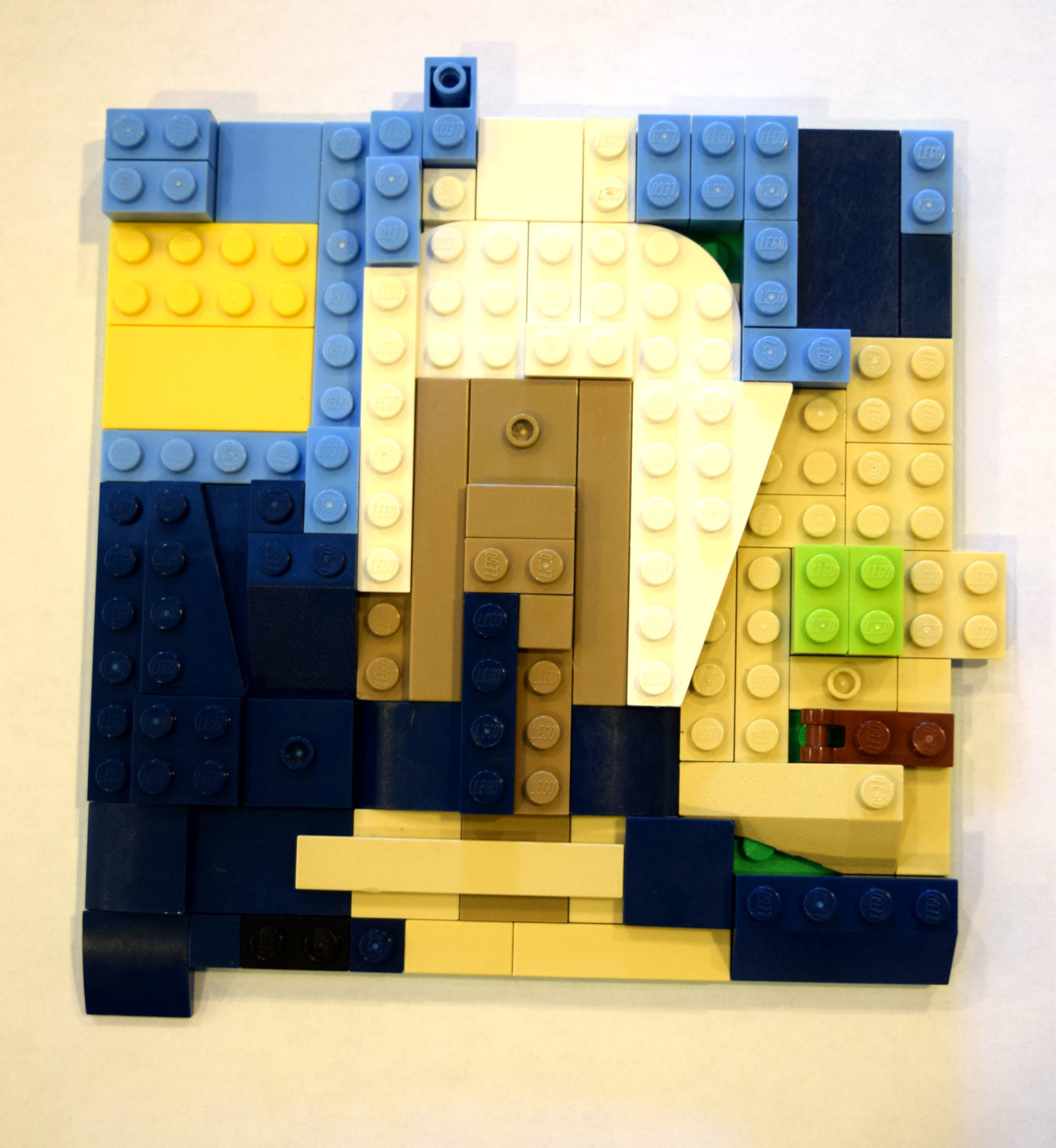 LEGO Challenge: Build a Baseplate Collage