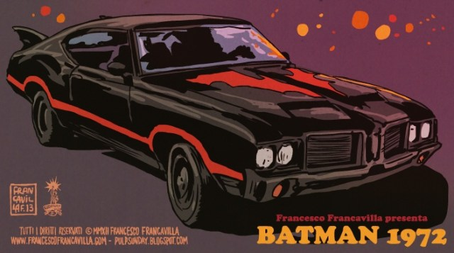 Batman 1972 Batmobile