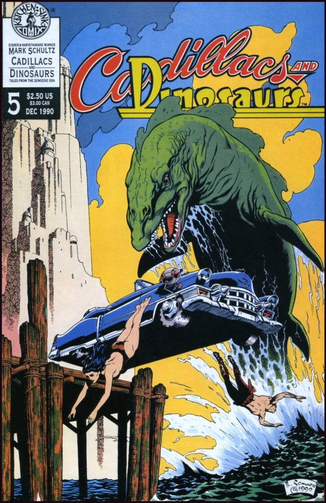 Cadillacs and Dinosaurs cover