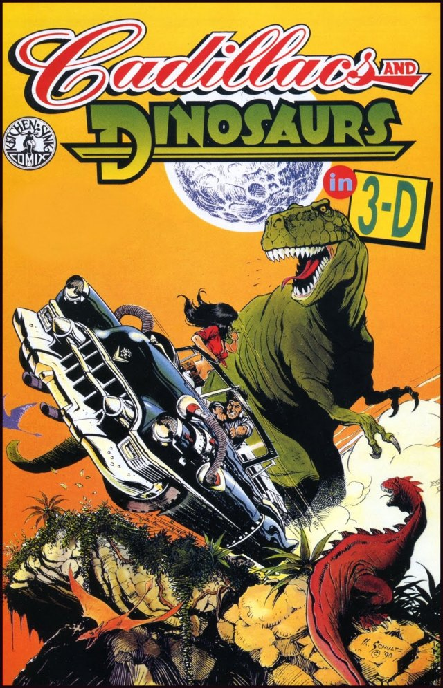 Cadillacs and Dinosaurs in 3D cover