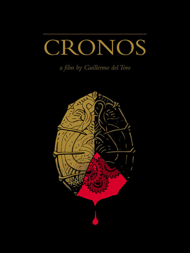 'Cronos' movie poster by Mike Mignola and Dave Stewart