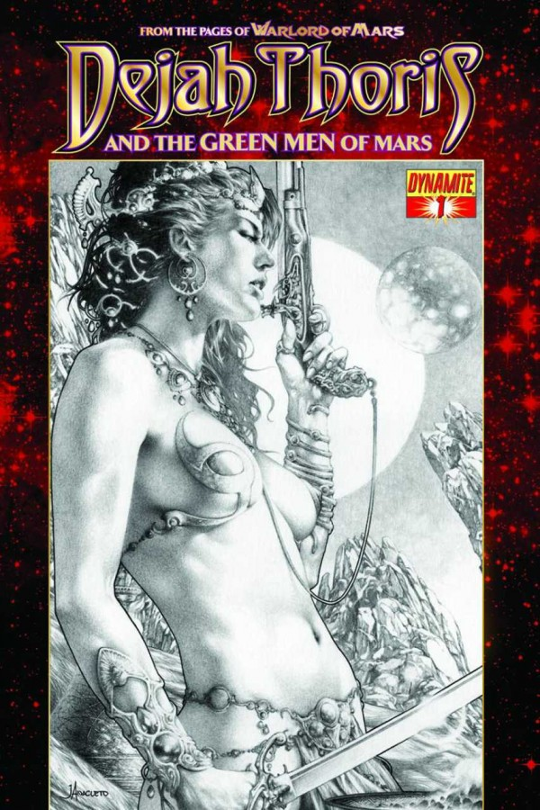 Dejah Thoris and the Green Men of Mars #1 cover by Jay Anacleto