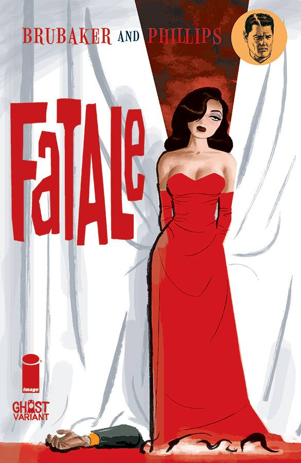 Fatale #15 variant cover by Darwyn Cooke