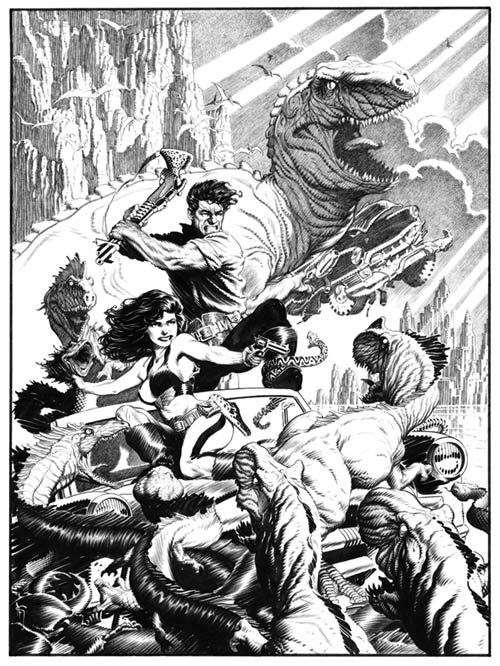 Goners by Mark Schultz