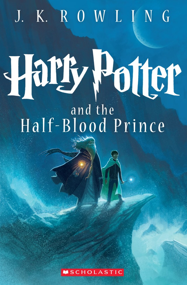 'Harry Potter and the half-blood prince' cover by Kazu Kibuishi