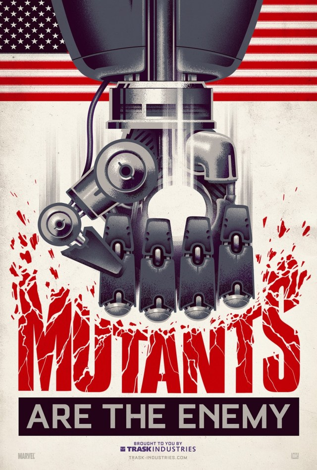 Mutants are the enemy poster