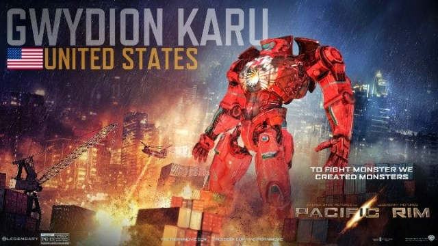 Pacific Rim Gwydion Karu USA