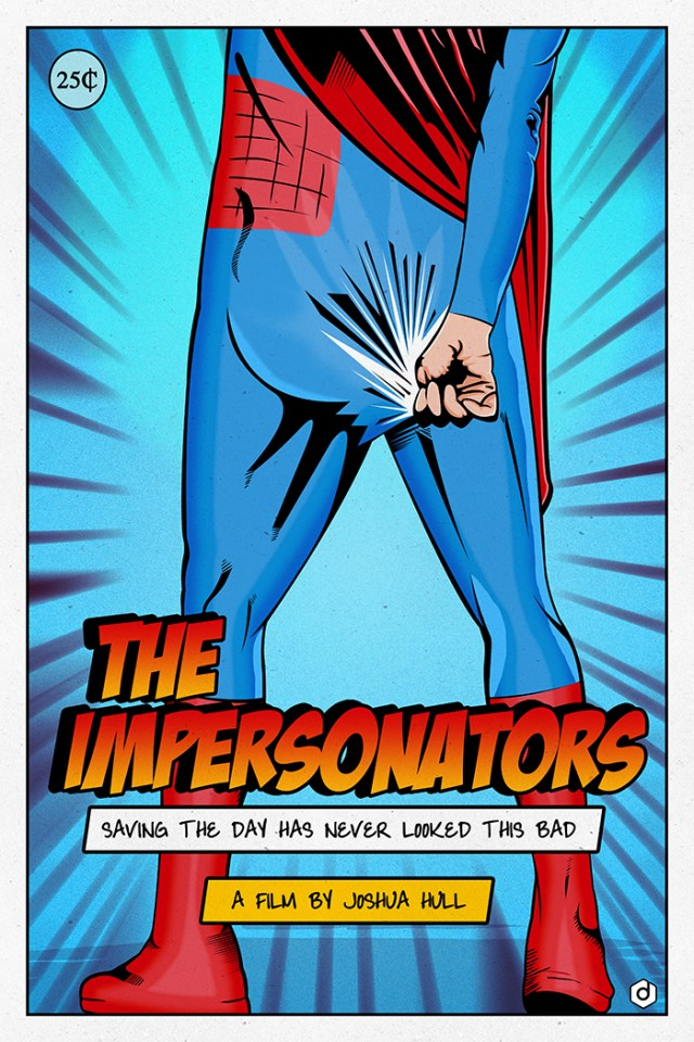 The Impersonators movie poster by Doaly