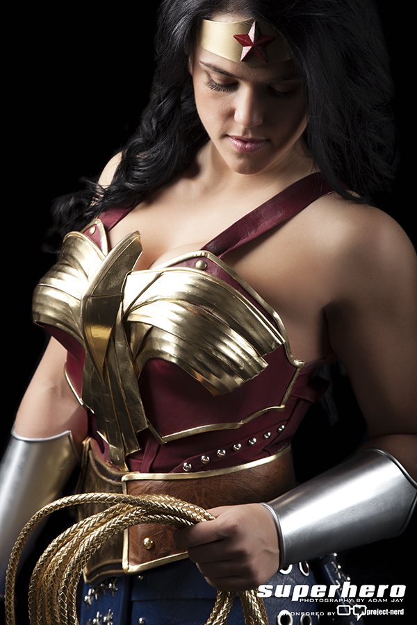 Wonder Woman cosplayed by Sarah Scott and photographed by Adam Jay
