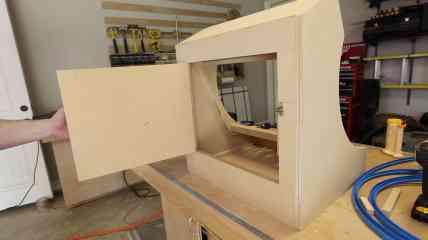 RetroPie Bartop Arcade Cabinet 0032