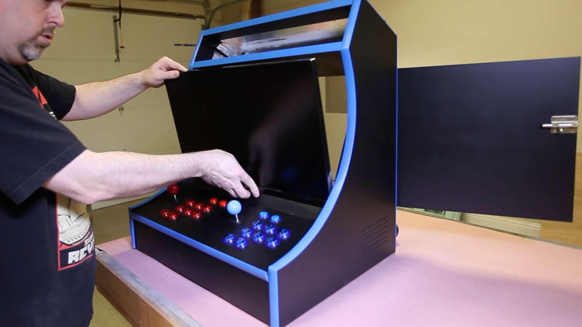 Build a RetroPie Bartop Arcade Cabinet - The Geek Pub