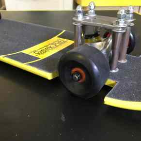 slammed lowrider skateboard build 0004