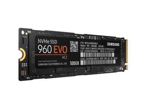 Gaming PC Build 0007 - Samsung EVO 960 NVMe SSD