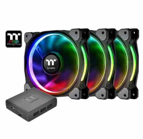 Gaming PC Build 0009 - Thermaltake Riing Fans