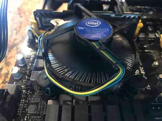 Tour of my Mining Rig 0009 - Intel Celeron CPU
