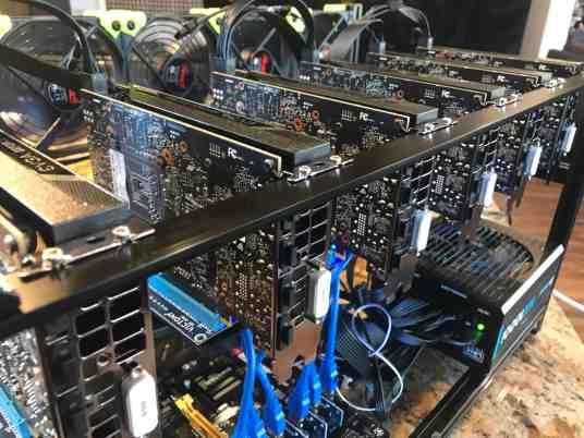 Tour of my Mining Rig 0011 - EVGA nVidia GTX 1060
