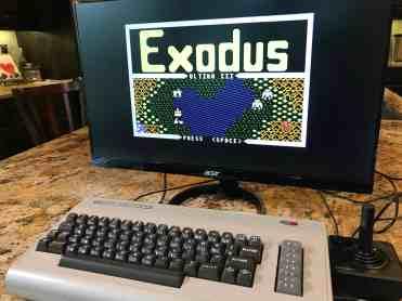 Raspberry Pi Commodore 64 0002 - Ultima 3