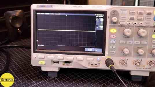 oscilloscope 5 volts