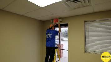 New Building Network 0003 - Fixing Exit Signs