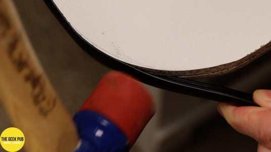 Ultimate Electronics Workbench 0014 - Installing T-Molding