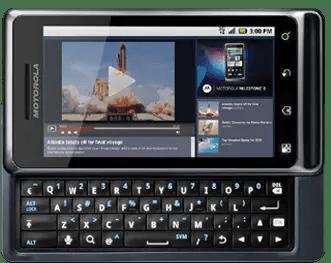 Motorola Milestone 2 Features and Tech specs