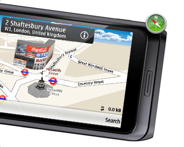 Nokia E7 Maps