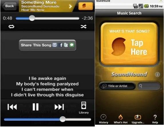 sound hound ios app