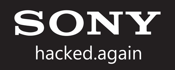 sony network hacked again