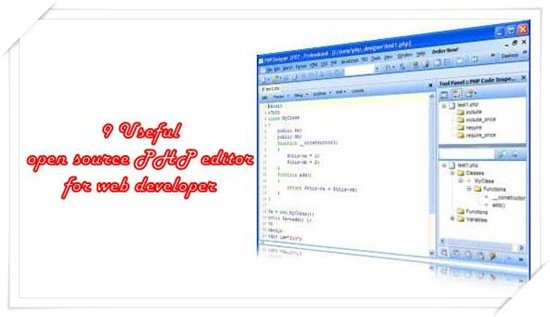 Top Open Source PHP editor for Web Developers