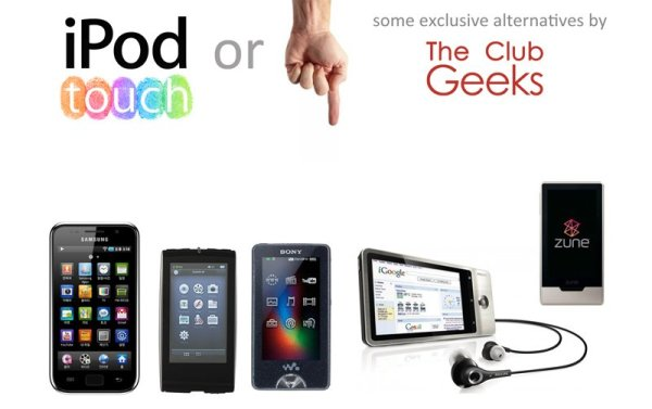 alternatives to iPod Touch