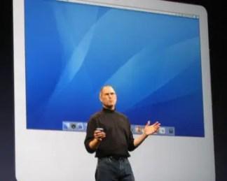 Steve Jobs Unveils iMac