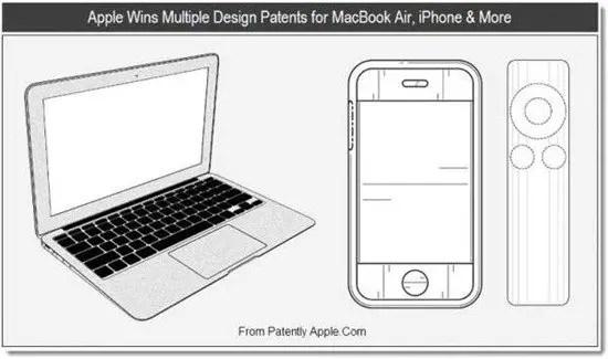 Apple Patents Design of the MacBook Air
