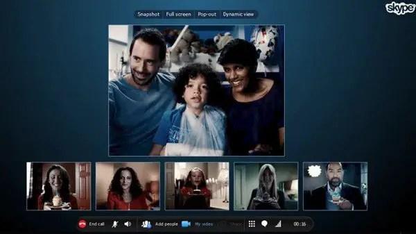 skype group video