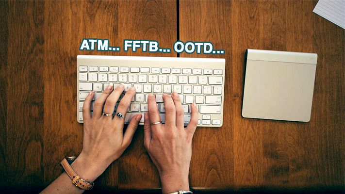 Facebook Slang Words WFM