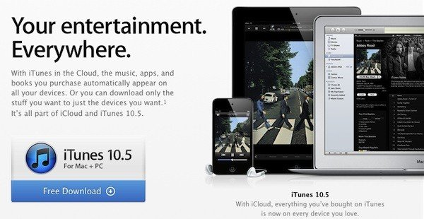 Apple releases iTunes 10.5 with iTunes with Cloud Support now