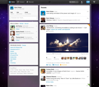 Twitter redesigning