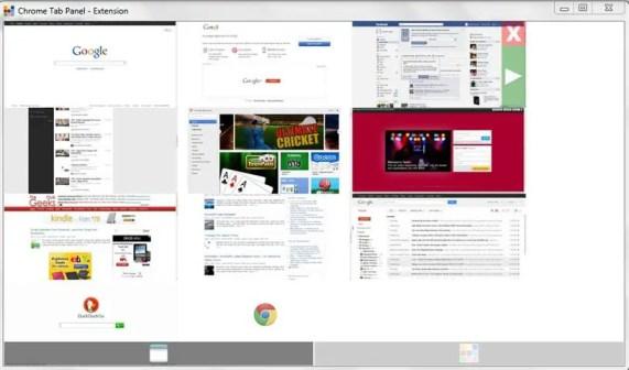 Chrome Tab Panel - Expose Tabs