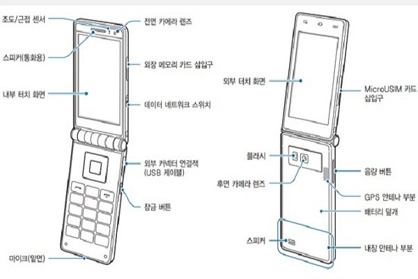 Samsung's Galaxy Golden flip phone spotted with a touch