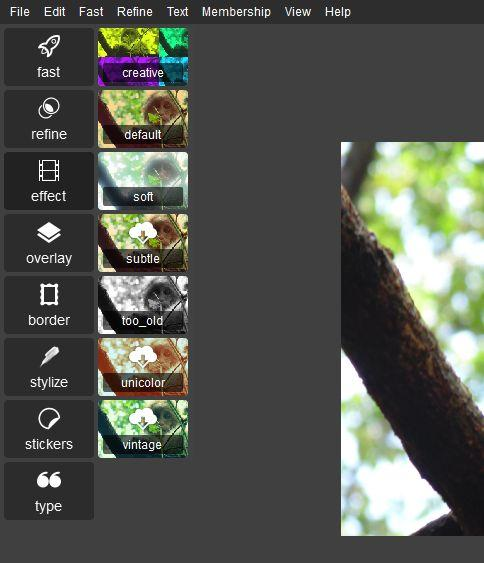 Autodesk Pixlr Effects