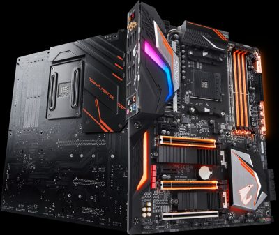 GigabyteX470 AORUS GAMING 7 WIFI Gaming Motherboard