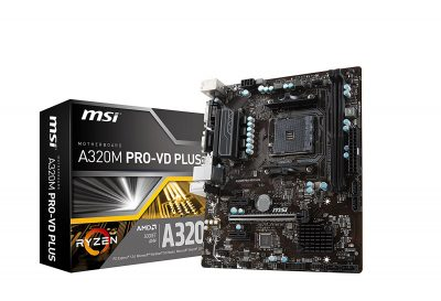 A320M PRO-VD PLUS Gaming Motherboard