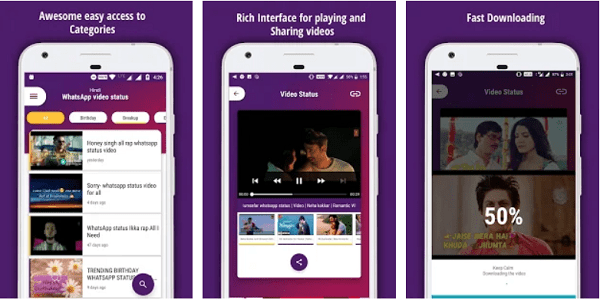 video status app for whatsapp in android