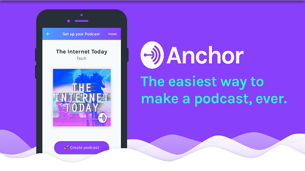Anchor lets you make a podcast on Android phones