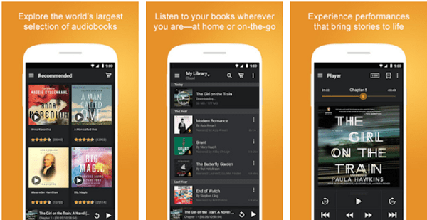 Audiobooks service lets you  listen to Audiobooks on Android