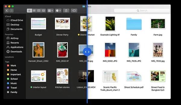 Dark mode in macOS X List of newfeatures of macOS Mojave