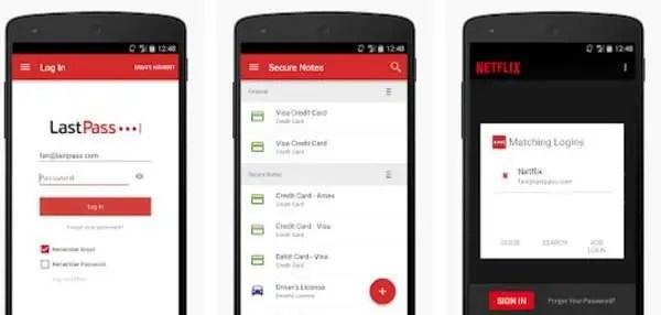 lastpass password manager Top Ten Android Apps